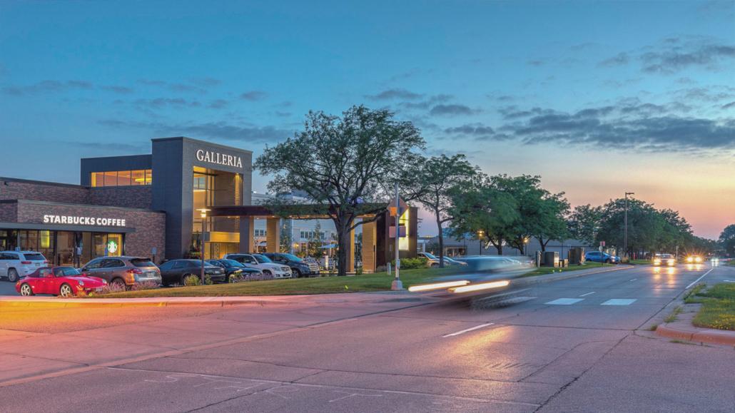 Galleria and other neighborhood shops