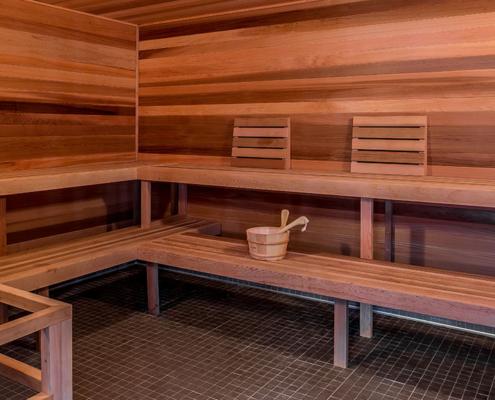 All season sauna