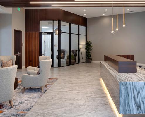 Luxury entrance lobby Aria Edina